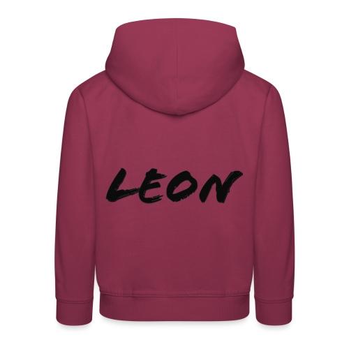 Leon - Pull à capuche Premium Enfant
