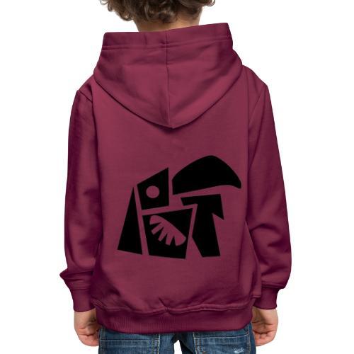 Oedwai Black - Pull à capuche Premium Enfant