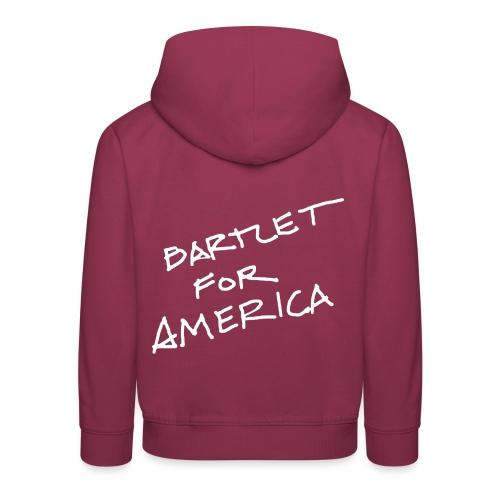 Bartlet For America - Kids' Premium Hoodie