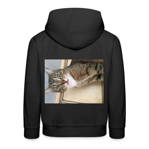 Kotek - Bluza dziecięca z kapturem Premium