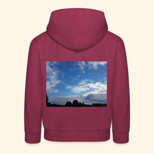 himmlisches Wolkenbild - Kinder Premium Hoodie
