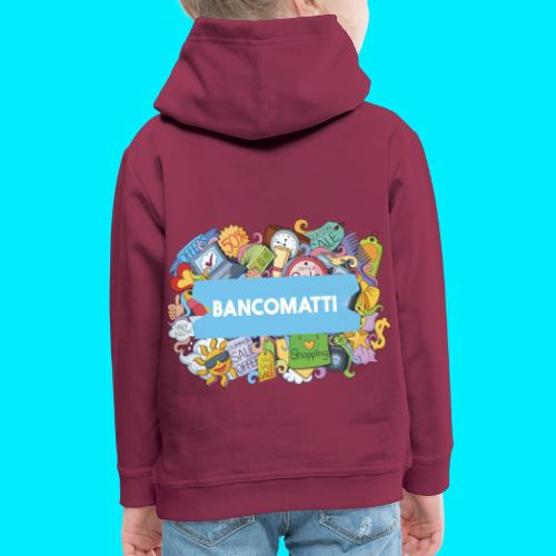 Bancomatti DOODLE 1 - Felpa con cappuccio Premium per bambini