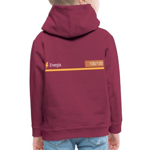 Energía 100% - Sudadera con capucha premium niño