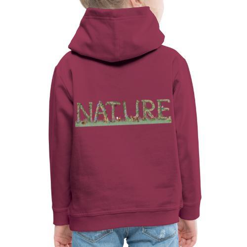 Natur - Kinder Premium Hoodie