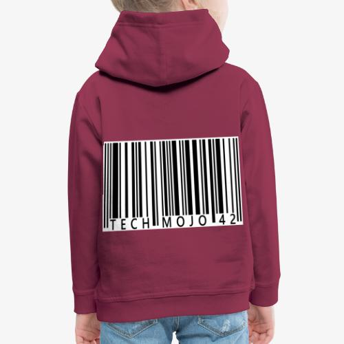 TM graphic Barcode Answer to the universe - Kids' Premium Hoodie