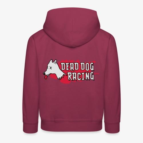 Dead dog racing logo - Kids' Premium Hoodie