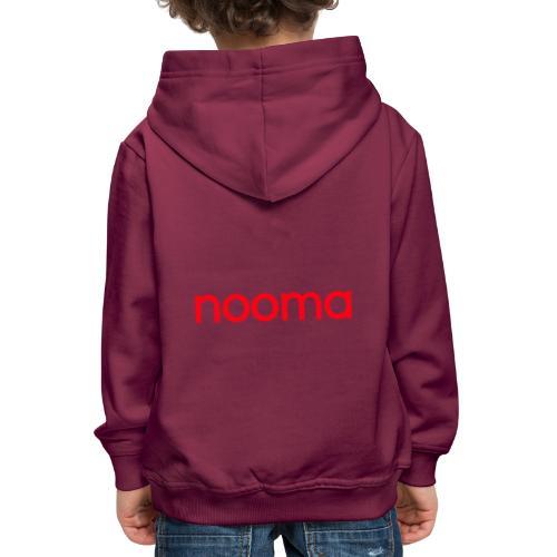 Nooma - Kinderen trui Premium met capuchon