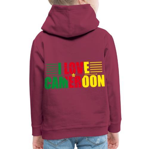 love cameroun - Pull à capuche Premium Enfant