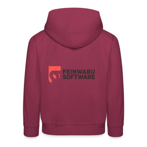 Feinwaru Full Logo - Kids' Premium Hoodie