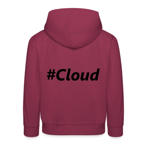 #Cloud black - Kinder Premium Hoodie