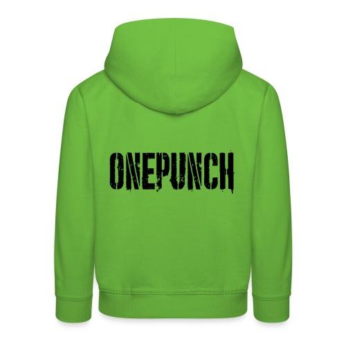 Boxing Boxing Martial Arts mma tshirt one punch - Kids' Premium Hoodie