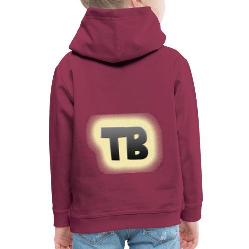 thibaut bruyneel kledij - Kinderen trui Premium met capuchon