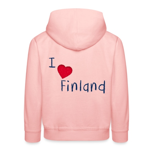I Love Finland - Lasten premium huppari