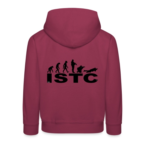ISTC NOIR - Pull à capuche Premium Enfant