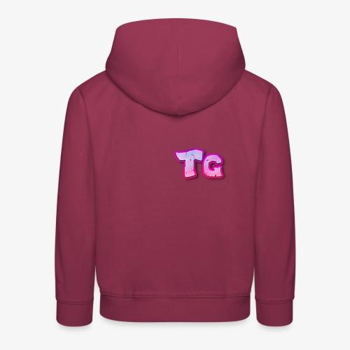 tg logo - Kids' Premium Hoodie