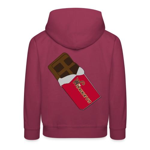 The Wonkeys Chocolate Edition - Felpa con cappuccio Premium per bambini