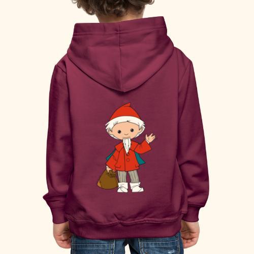 Sandmännchen winkt - Kinder Premium Hoodie