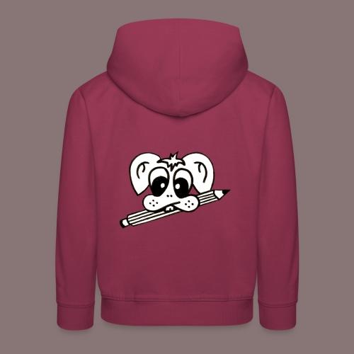 mister rabbitissimo school - Kinder Premium Hoodie