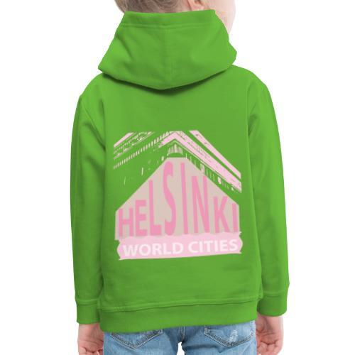Helsinki light pink - Kids' Premium Hoodie