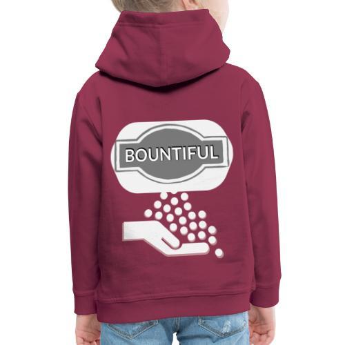 Bontiul gray white - Kids' Premium Hoodie