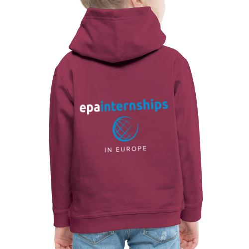 EPA Logo White - Kids' Premium Hoodie