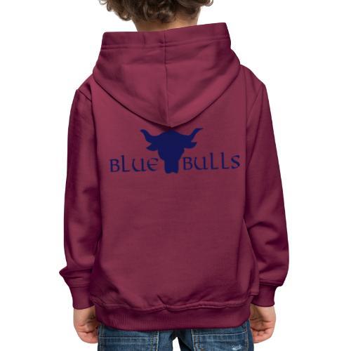 blue bulls vector - Kinder Premium Hoodie