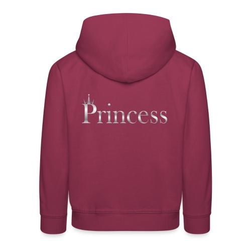 Princess silver - Premium Barne-hettegenser