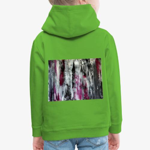 Abstrakcyjny obraz Jutro - Bluza dziecięca z kapturem Premium