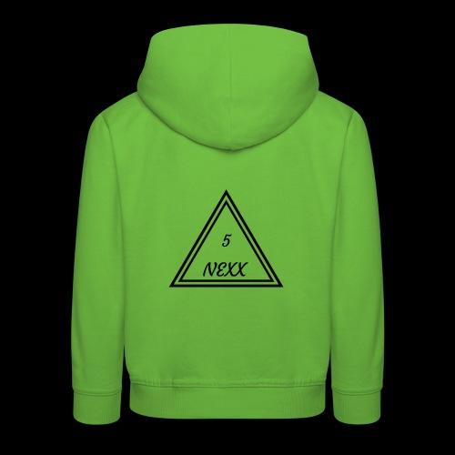 5nexx triangle - Kinderen trui Premium met capuchon