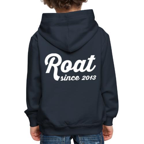 Roat since2013 - Premium hættetrøje til børn