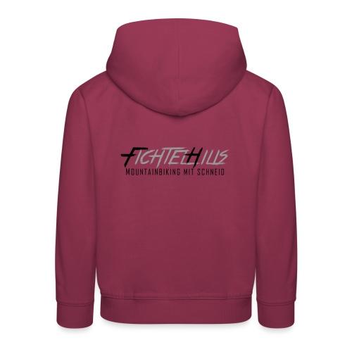 Fichtelhills MTB mit Schneid - Kinder Premium Hoodie