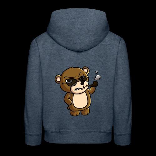 AngryTeddy - Kids' Premium Hoodie