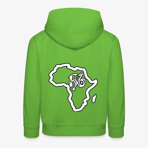 afrika pictogram - Kinderen trui Premium met capuchon