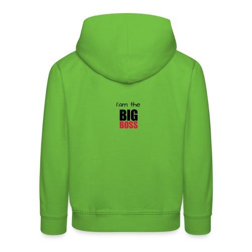 I am the big boss - Pull à capuche Premium Enfant