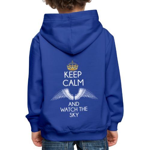 Keep Calm - Bluza dziecięca z kapturem Premium