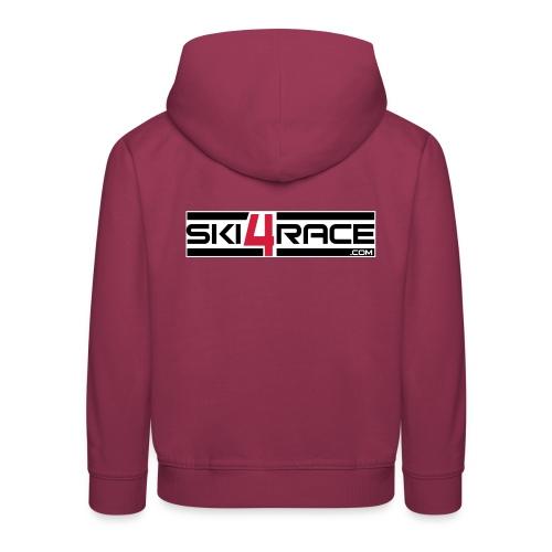 logo ski4race 2 - Pull à capuche Premium Enfant
