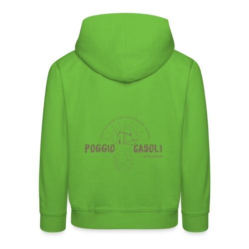 Poggio Casoli_Istituzionale - Felpa con cappuccio Premium per bambini