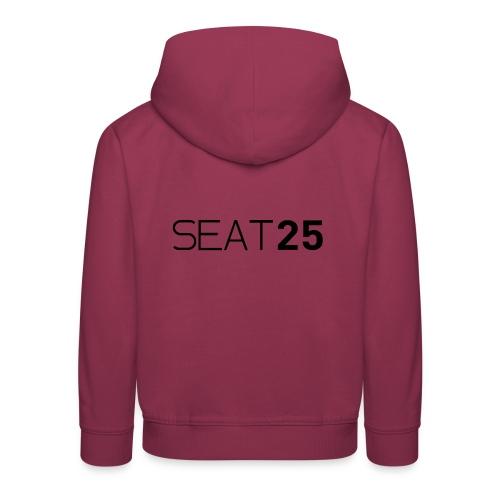 Seat25 Logo Dark - Kids' Premium Hoodie