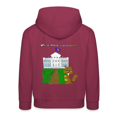 White House going NUTS - Kinder Premium Hoodie
