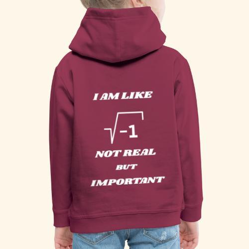 Wurzel (-1) nicht real - Kinder Premium Hoodie
