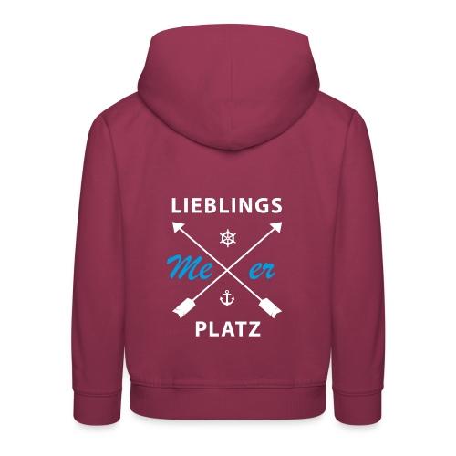 Lieblingsplatz Meer - Kinder Premium Hoodie