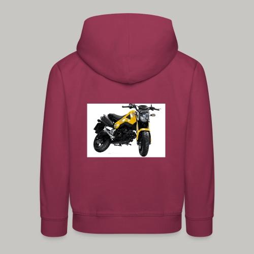 Grom Motorcycle (Monkey Bike) - Kids' Premium Hoodie