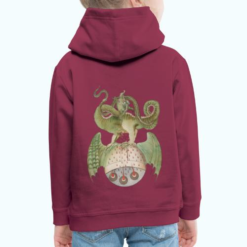Middle Ages Dragon - Kids' Premium Hoodie