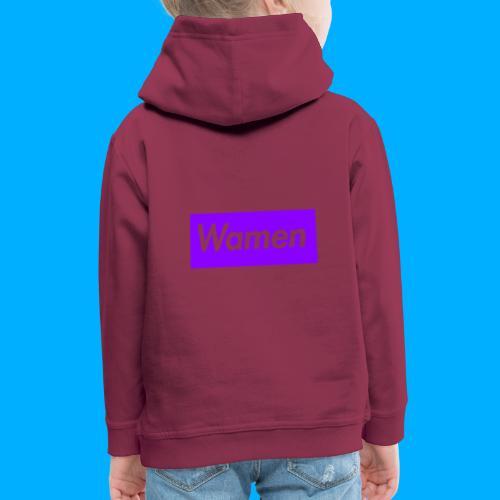 Wamen T-Shirt Design - Kids' Premium Hoodie