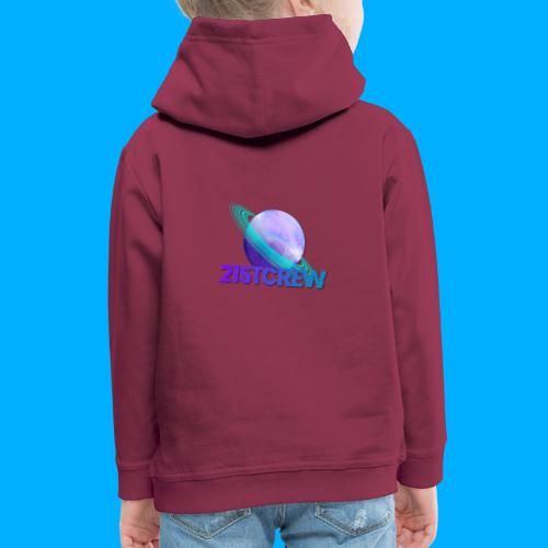 PurpleSaturn T-Shirt Design - Kids' Premium Hoodie