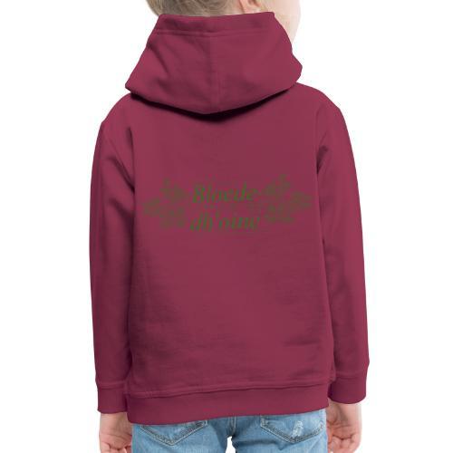 Bloede Dhoine - Kids' Premium Hoodie