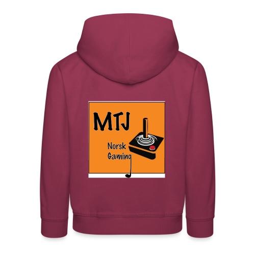 Mtj Logo - Premium Barne-hettegenser