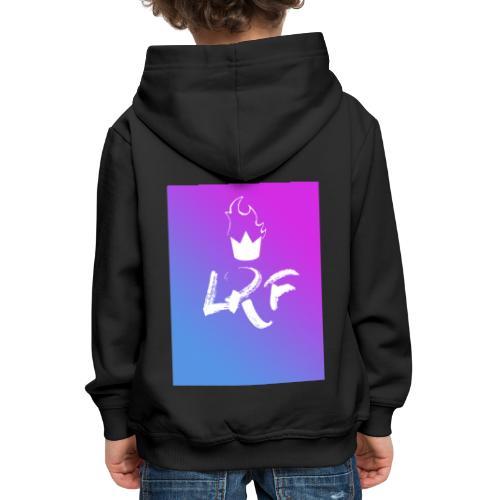 LRF rectangle - Pull à capuche Premium Enfant