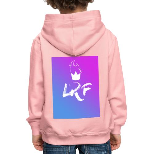 LRF rectangle - Pull à capuche Premium Enfant