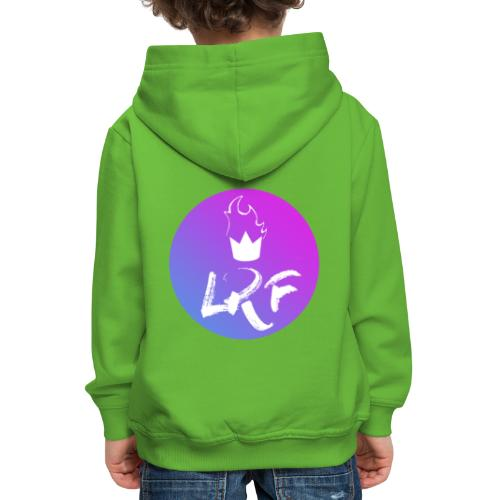 LRF rond - Pull à capuche Premium Enfant